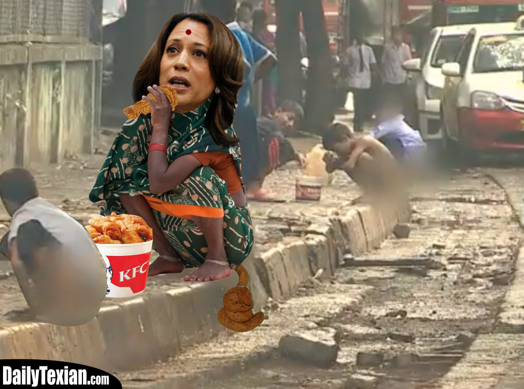 Kamala Harris Brimming With Monkeyshit