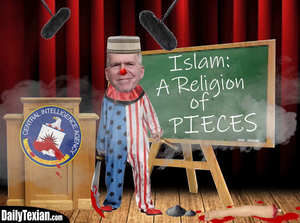 Muslim CIA Director Is Clownshoes