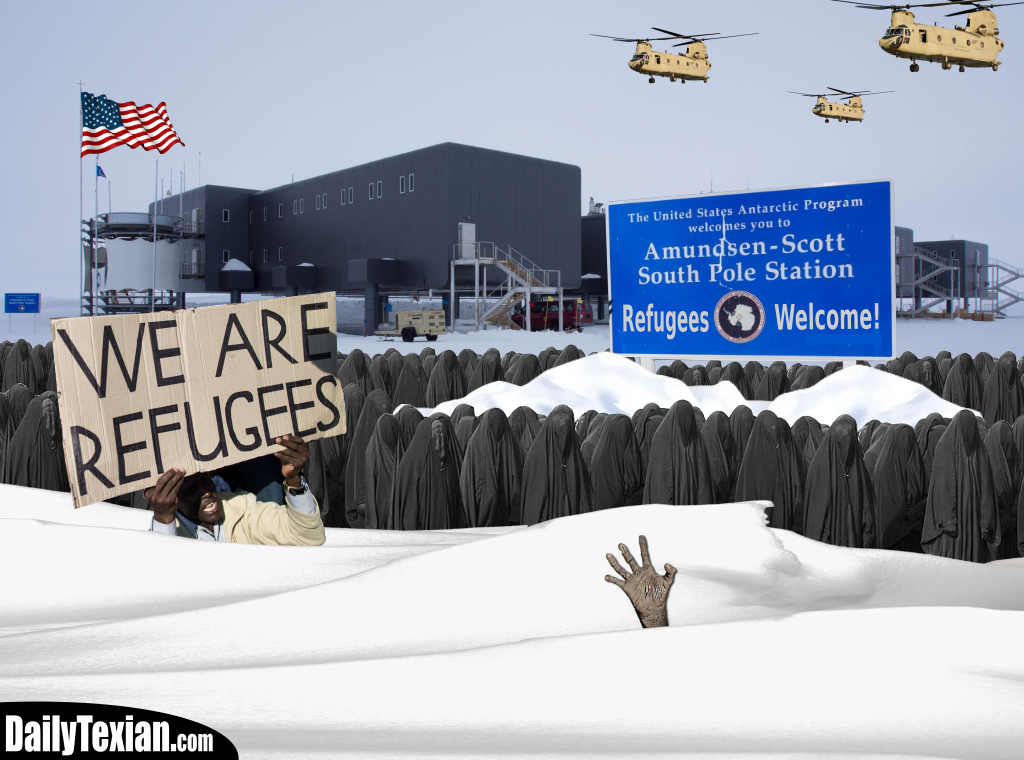 Refugees Welcomed At South Pole