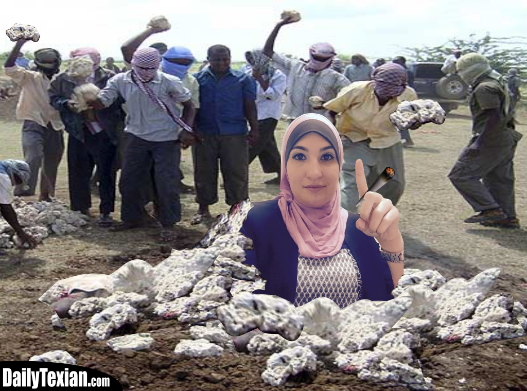 Peaceful Muslims Just Wanna Get Stoned