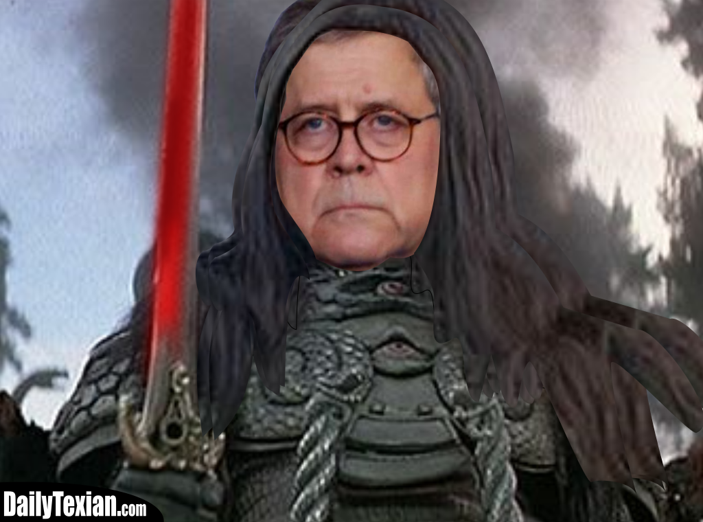 Attorney General Is A Barbarian